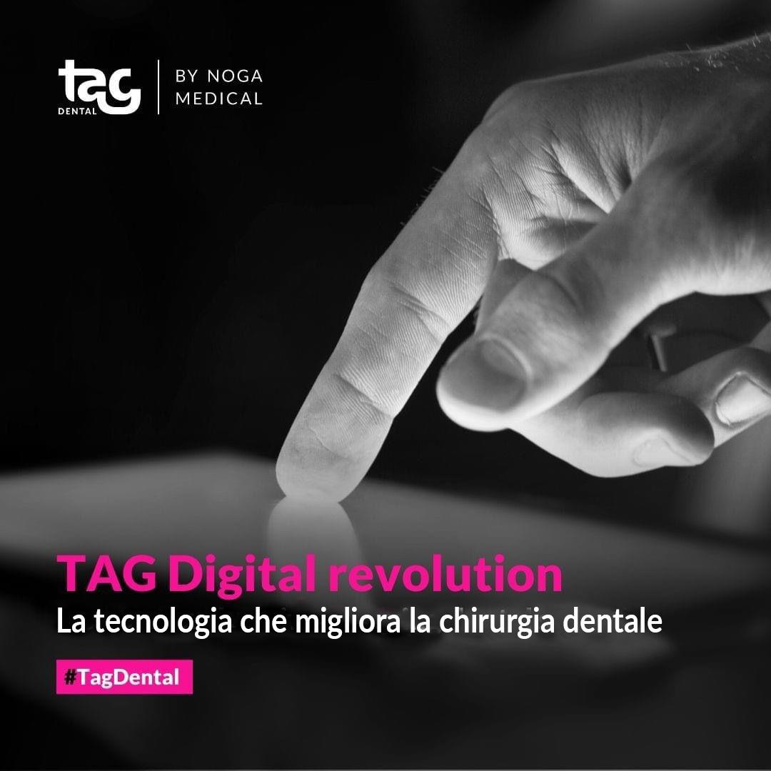 TAG Rivoluzione digitale: come la tecnologia sta migliorando la chirurgia dentale