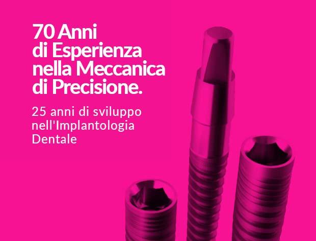 70 Anni di Esperienza nella Meccanica di Precisione